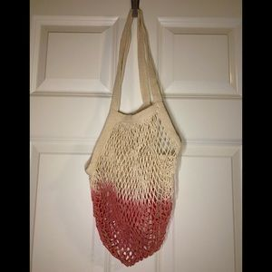 NWOT Camp Collection dip dye Market Tote.